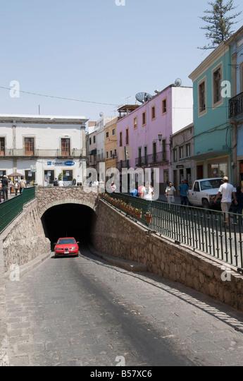 Berühmten Tunnel von Guanajuato, ein UNESCO-Weltkulturerbe, Guanajuato, Bundesstaat Guanajuato, Mexiko, Nordamerika Stockbild