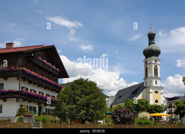 Reit Im Winkl, Bayern, Deutschland Stockbild