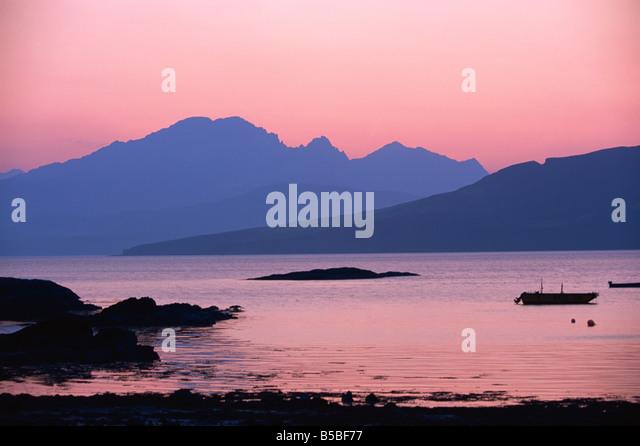 Ord, Strathaird, Highlands, Schottland, Europa Stockbild