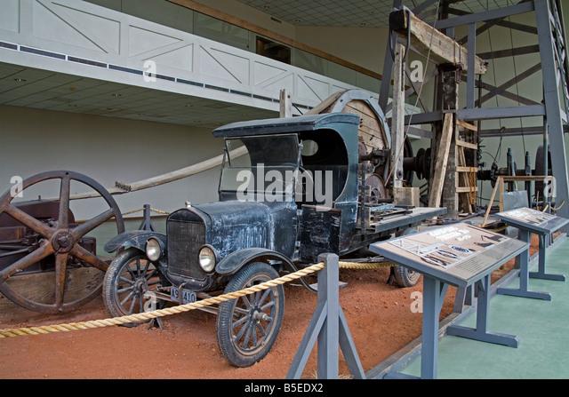 Pfannenstiel-Plains-historisches Museum, Amarillo, Texas, USA, Nordamerika Stockbild