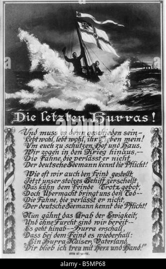 9 1914 12 8 A1 1 Schlacht der Falklandinseln 1914 Postkarten 1. Weltkrieg Seekrieg Seeschlacht bei den Falklandinseln Stockbild