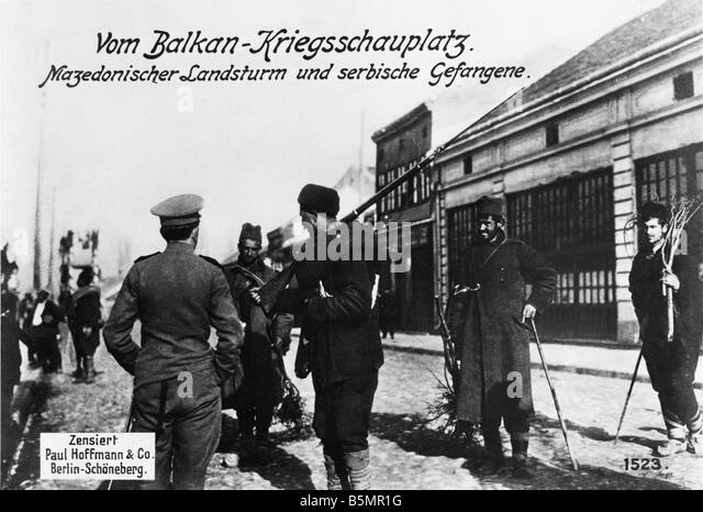 9 1916 8 0 A1 E mazedonischen Reserve Foto 1. Weltkrieg Herbst Schlacht in Mazedonien August 1916 bis zum Betteln Stockbild