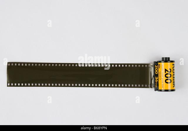 Kodak Color Rollfilm. Stockbild