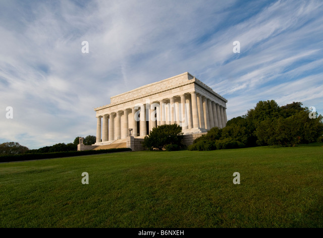 Lincoln Memorial, Washington DC USA Stockbild