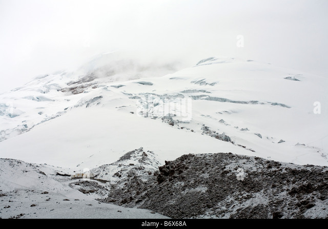 Cotopaxi Vulkan in den ecuadorianischen Anden Stockbild