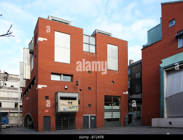 Nationalen fotografisches Archiv Temple Bar Dublin Irland Stockbild