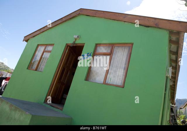 Imizano Yethu township Stockbild