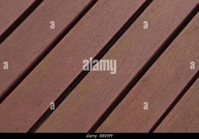 Lackierten Holzlatten Stockbild