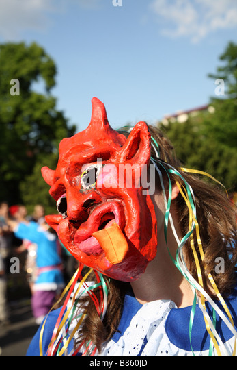 Berlin Kaneval Der Kulturen Karneval der Kulturen - Stock-Bilder