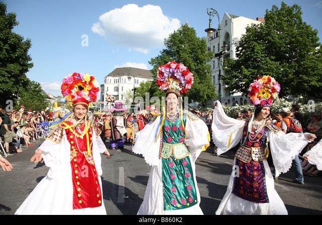 Berlin Kaneval Der Kulturen Karneval der Kulturen Stockbild