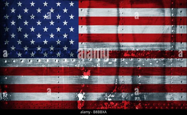 Amerikanische Flagge - Stock-Bilder