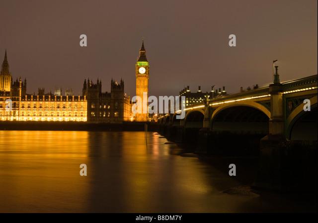Häuser des Parlaments london Stockbild
