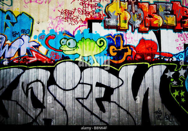 Graffitti Stockbild