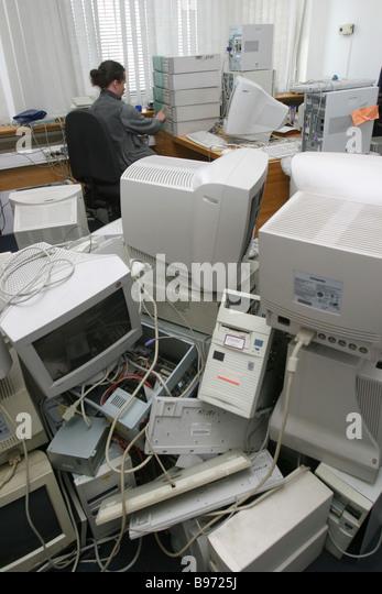 Veraltete Computer Stockbild
