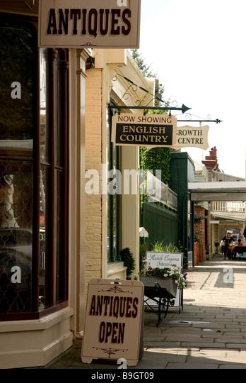 Pfeifer Straße Straßenbild Shire, Australien Stockbild