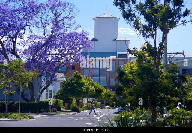 Zucker-Raffinerie-Apartments-Brisbane-Australien Stockbild