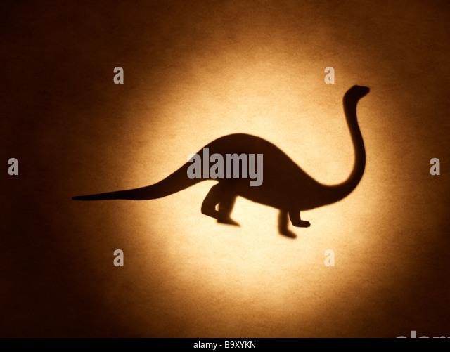 Mesozoischer Dinosaurier Stegosaurus Stockbild
