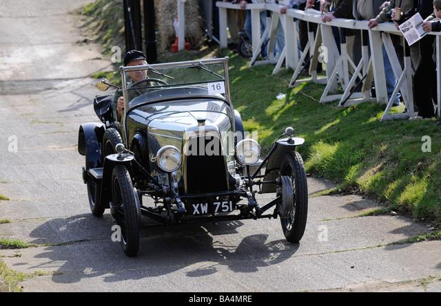 Brooklands Test Hill Centenary Event 22 03 2009 ASton Martin Sport 1924 Stockbild