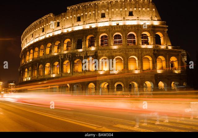 Kolosseum Rom Stockbild