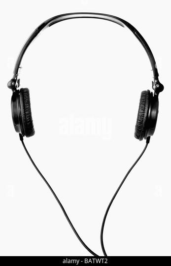 Kopfhörer Stockbild