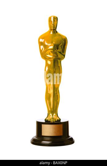 Kopie Oscar Academy Awards statuette Stockbild