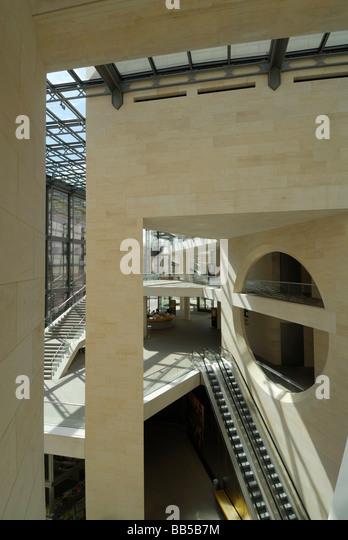 Berlin Deutschland neuen Flügel des deutschen historischen Museums deutschen historischen Museum IM Pei entworfene Stockbild
