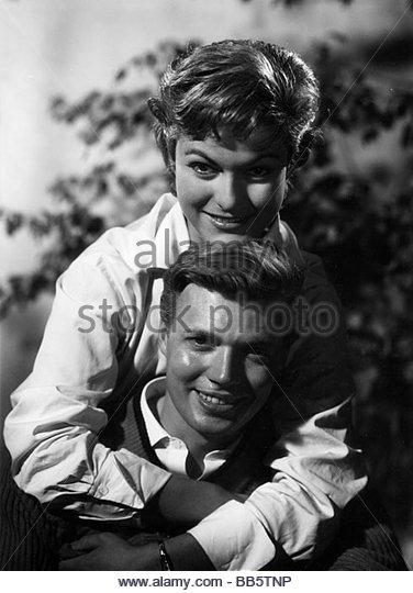 "Film, ""Schwedische Mädchen"" (Sommarflickan), DEU / SWE 1955, Regie: Thomas Engel, Hakan Bergström, Stockbild"