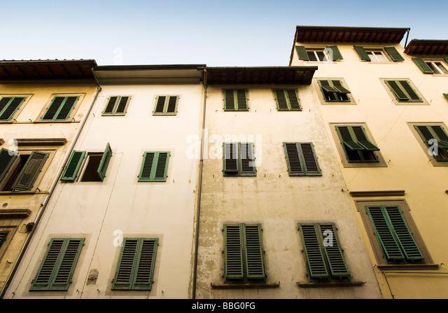 Architektur in Florenz Stockbild