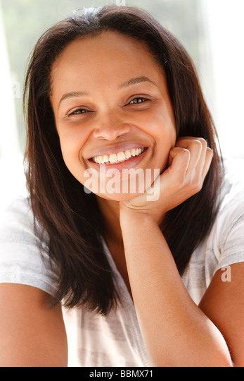 Ethnische Frau Porträt Stockbild