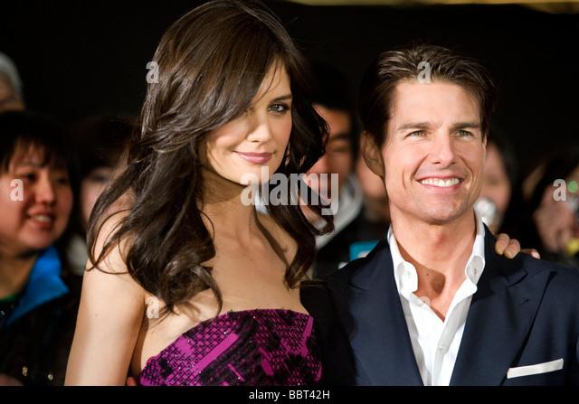 Hollywood star-Schauspieler Tom Cruise, am roten Teppich premiere des Films. Stockbild