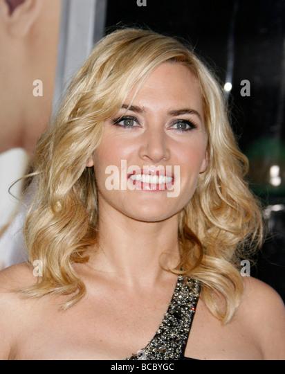 KATE WINSLET - UK Filmschauspielerin im Jahr 2009 Stockbild