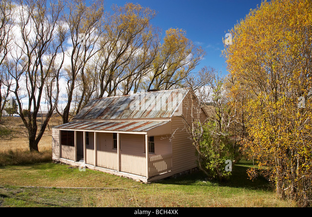 Alten Bergleute Hütte historische aufgegeben Gold Rush Town Kiandra Kosciuszko National Park Snowy Mountains Stockbild