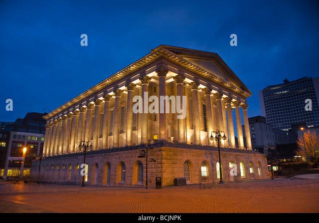 England, West Midlands, Birmingham, Rathaus Stockbild