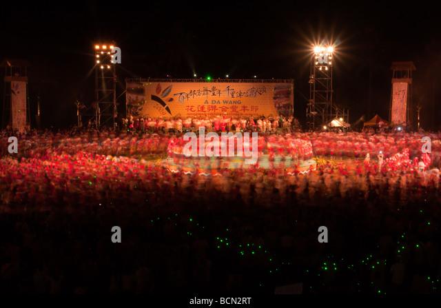 Indigene Kulturen-Festival 2009 in Hualien, Taiwan Stockbild