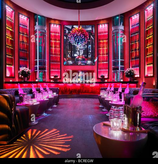 Legen Sie Nachtclub Miami, Miami Beach, Florida, USA Stockbild