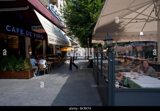 Restaurant Cafe De Paris Interlaken