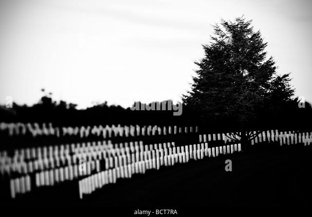 Britischen Soldatenfriedhof torino di Sangro, Italien Stockbild