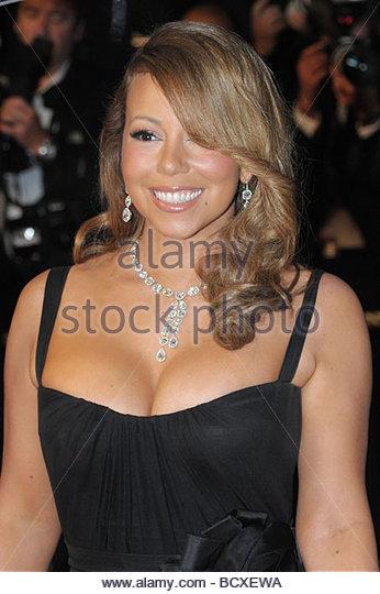 Mariah Carey, Cannes 2009, 62. Filmfestspiele von Cannes Stockbild