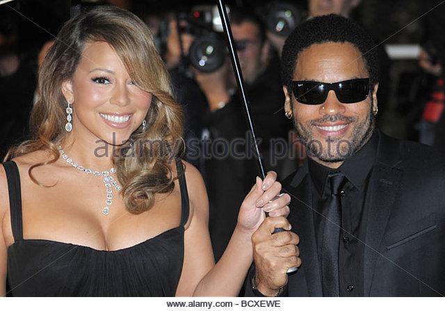 Mariah Carey, Lenny Kravitz, Cannes 2009, 62. Filmfestspiele von Cannes Stockbild