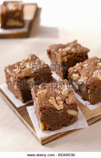 brownies stockfotos brownies bilder alamy. Black Bedroom Furniture Sets. Home Design Ideas