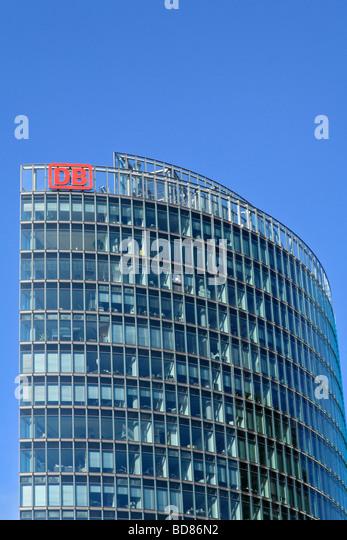 Gebäude der Deutschen Bahn (Deutsche Bahn), Berlin, Deutschland. Stockbild