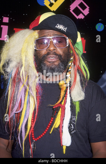GEORGE CLINTON - US-Sängerin über 1994 Stockbild