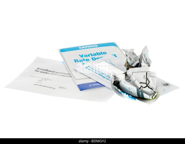 Junk-Mail Stockbild