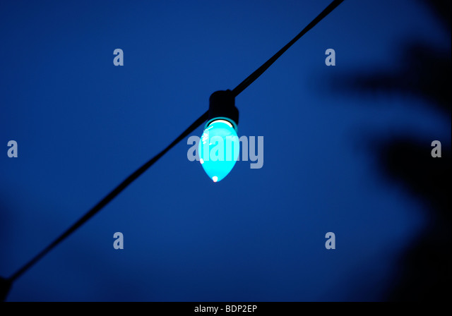 Blaulicht Stockbild