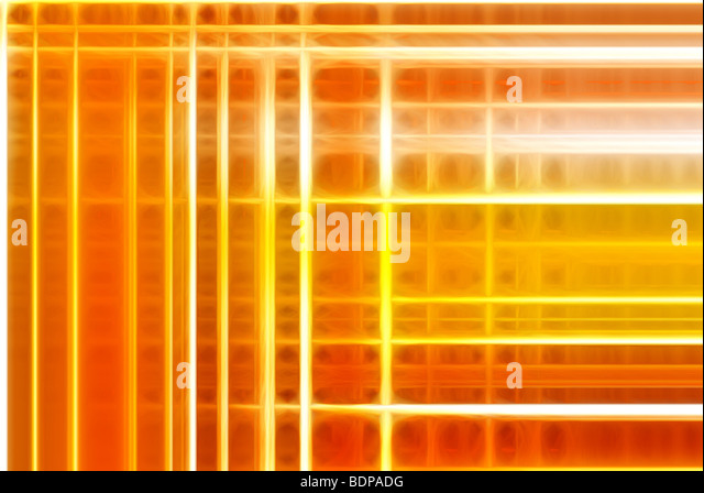 Ein abstraktes Hintergrundbild bestehend aus bunten Linien Stockbild