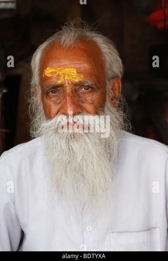 Rajasthanis in Rajasthan, If, Indien - Stock-Bilder