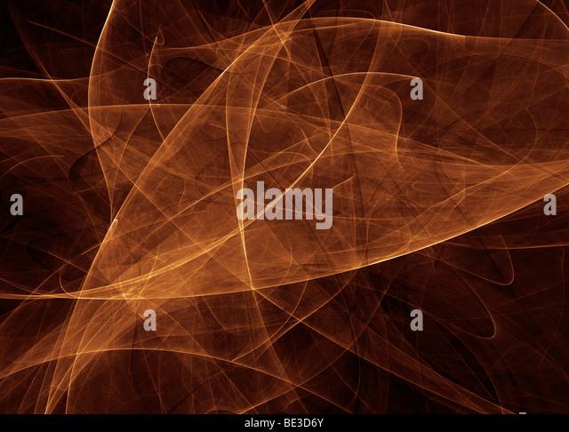 Abstrakte gold Abbildung. Stockbild