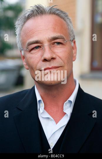 """Klaus J. Behrendt, Schauspieler, """"Tatort"""", deutsche TV-Krimi-Serie Stockbild"""