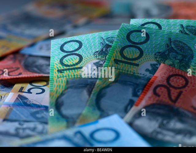 Australische Währung Stockbild