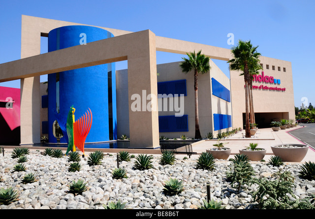 USA, California, Los Angeles Museum of Latin American Art Long Beach. Stockbild